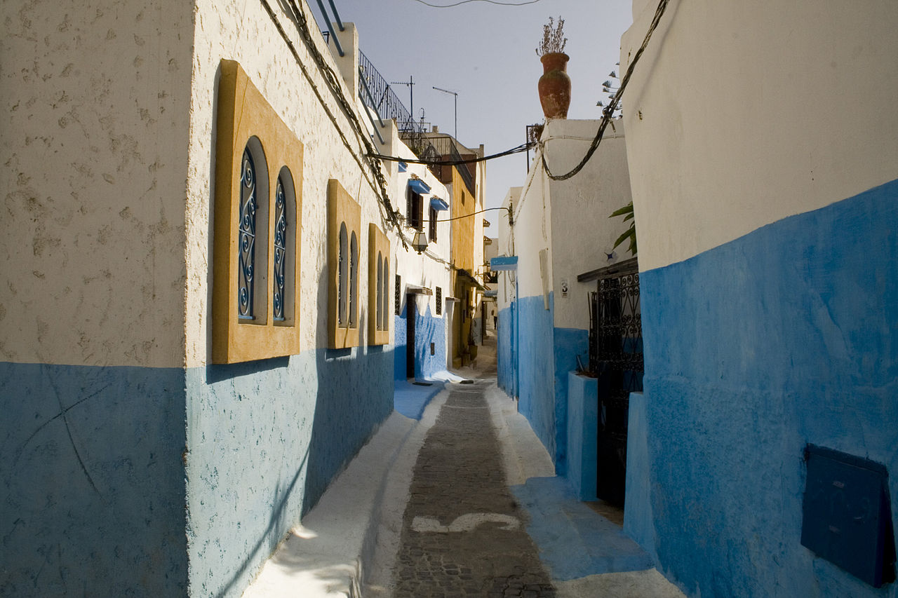 Best Things To Do In Rabat Morocco Trip - Old town morocco entirely blue