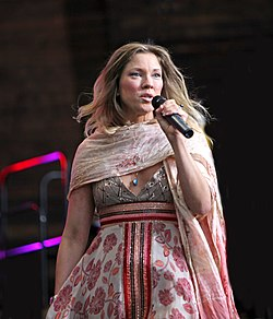 Meja Beckman at the National Day celebrations 2009.jpg