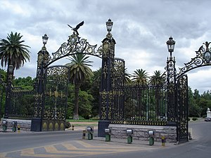 General San Martín Park - Gates of General San Martín Park