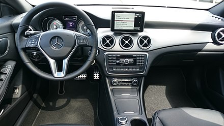Mercedes benz cla class wikiwand interior fandeluxe Gallery