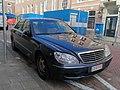 Mercedes S-Class Belgium Old diplomatic plate (Greece) (44489916181).jpg