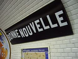 Bonne Nouvelle (Métro Paris)