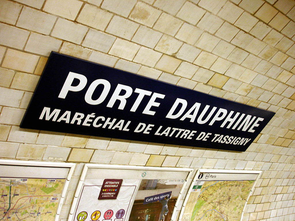 File metro de paris ligne 2 porte dauphine wikimedia commons - Portes ouvertes paris dauphine ...