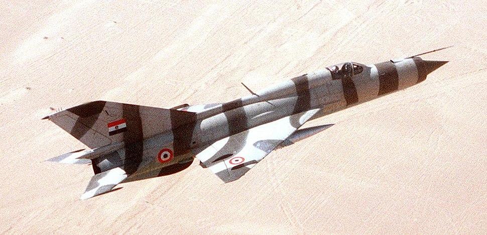 MiG-21PFM-Egypt-1982