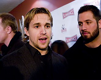2008 Slamdance Film Festival - Cloverfield star Michael Stahl-David (center-left) at the 2008 Festival