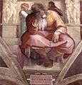 Michelangelo, profeti, Jeremiah 01.jpg