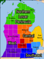 Michigan Regions highlighting Lower Peninsula.PNG