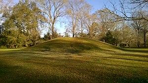 LSU Hilltop Arboretum - Image: Midden at LSU Hilltop Arboretum
