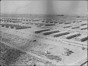 Minidoka War Relocation Center in 1943