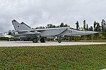 Mikoyan-Gurevich MiG-25PU '53 blue' (38094151656).jpg