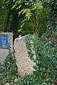 Milestone by Dry Drayton Road, Madingley (geograph 5555081).jpg