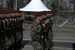 Military Parade Belgrade 2014 - Serbian Soldiers with Russian Knights - The Swifts (15816841463).jpg