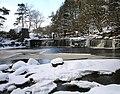 Mill falls in winter - geograph.org.uk - 1656672.jpg