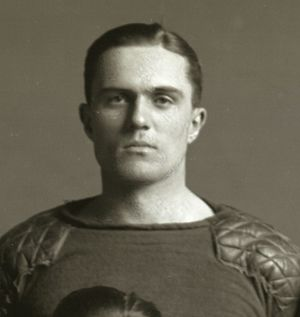 Miller Pontius - Pontius cropped from 1912 Michigan football team photograph
