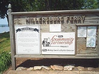 Millersburg Ferry - Image: Millersburg Ferry (2998437573)