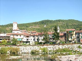 Millesimo Comune in Liguria, Italy