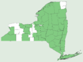 Mimulus ringens NY-dist-map.png
