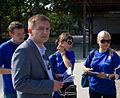 Minister Bartosz Arłukowicz podczas Błękitnej Soboty w Szczecinie (6124353417).jpg