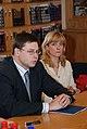 Ministru prezidenta Valda Dombrovska tikšanās ar reģionālo mediju pārstāvjiem (3598112923).jpg