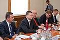 Ministru prezidents Valdis Dombrovskis tiekas ar Lietuvas prezidenti Daļu Grībauskaiti (7365224568).jpg