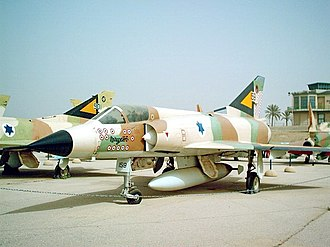 Israeli Air Force - Mirage IIIC at the Israeli Air Force Museum in Hatzerim. A veteran of fighting during the 1960s and 1970s, the aircraft bears 13 victory markings