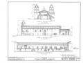 Mission Santa Barbara, 2201 Laguna Street, Santa Barbara, Santa Barbara County, CA HABS CAL,42-SANBA,5- (sheet 8 of 30).png