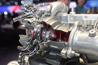 Renault F-Type engine - Twin-scroll turbo on the F4Rt engine