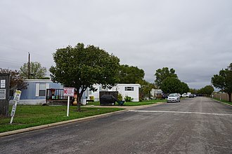 Mobile City, Texas - Ivey Lane in Mobile City