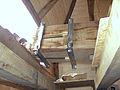 Molen Weseker standerdmolen Duitsland, bovenas insteekkop (2).jpg
