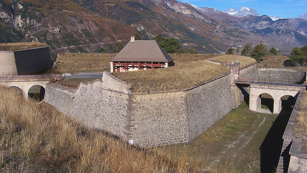 Ravelin at Mont-Dauphin, in front of Briançon's Gate