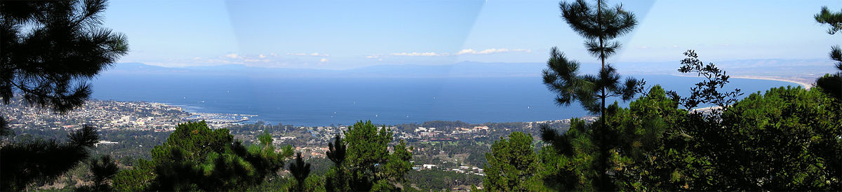 Panorama of Monterey Bay from Jacks Peak Park MontereyBayPanoramaFromJacksPeak.jpg
