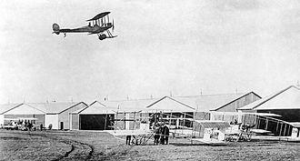 RAF Montrose - Image: Montrose Air Station Broomfield 1914