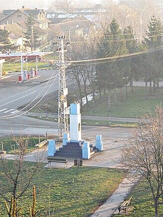 Kisač - Monument in Kisač