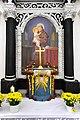 Moosburg Tigring Pfarrkirche Heiliger Egyd Antoniuskapelle Altar 01112010 35.jpg