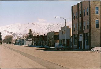 Morgan, Utah - Morgan's Old Commercial Street, March 2008
