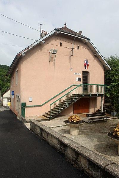 Mairie de Morre (Doubs).