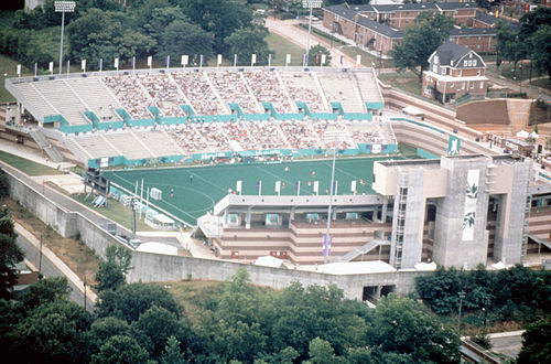 Morris Brown College Stadium Hosted The Field Hockey Finals For 1996 Summer Olympics In Atlanta