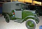 Morris Commercial R-Type truck, Land Warfare Hall, Imperial War Museum, Duxford. (31023330495).jpg