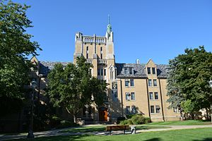 Morrissey Hall (University of Notre Dame) - Entrance