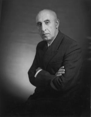 Human rights in Iran - Mohammad Mosaddegh, Iranian democracy advocate and deposed PM in Pahlavi dynasty
