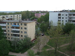 Residential buildings in Mozhaysk