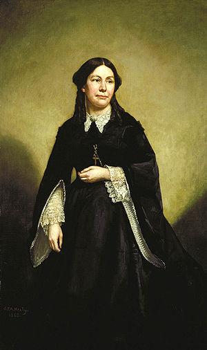 Ellen Ewing Sherman - Eleanor Boyle Ewing Sherman, portrait by G.P.A. Healy (1868)