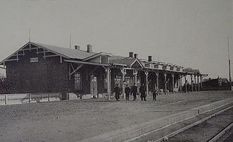 Mudanjiang - Image: Mudanjiang Old Station