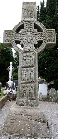 Photograph of the west face of the Cross.