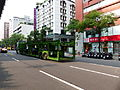 Multi-deck Car Transporter in Fuxing North Road, Taipei 20140527.jpg