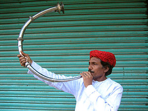 History of primitive and non-Western trumpets - Shringa- an Indian trumpet