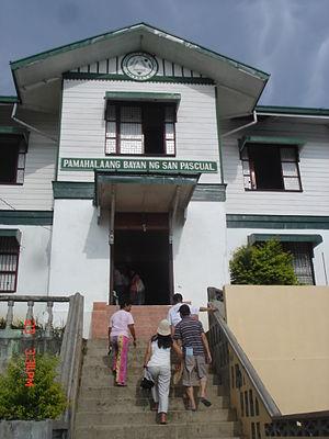 San Pascual, Masbate - Municipal hall of San Pascual