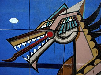 Dorrego (Buenos Aires Underground) - Image: Mural en Dorrego
