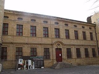 museum in the quartier Mazarin, Aix-en-Provence, France