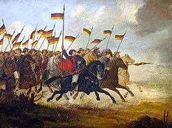 Carga de cavalaria Farroupilha, de Guilherme Litran